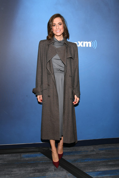 Allison Williams Tweed Coat