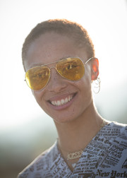 Adwoa Aboah stayed cool with this buzzcut at the launch of 'Bite Me.'