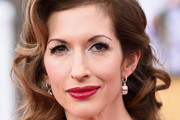 Alysia Reiner Retro Hairstyle