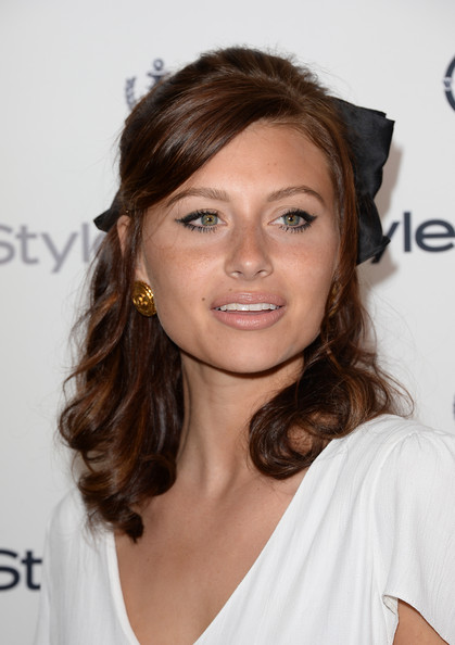 Alyson Michalka Half Up Half Down