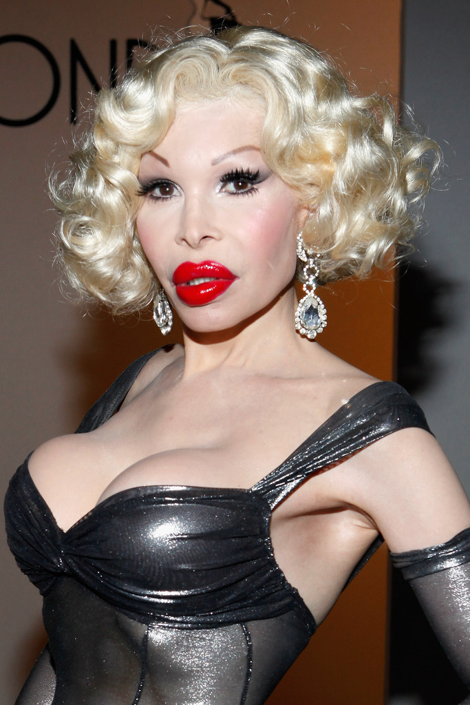 Amanda Lepore Dangling Crystal Earrings Amanda Lepore