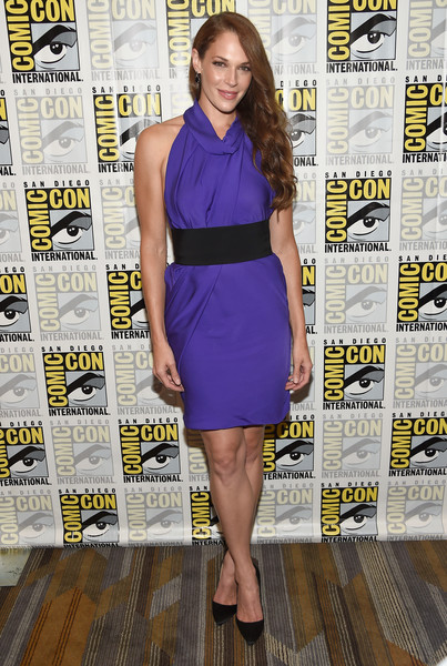 Amanda Righetti Halter Dress