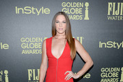 Amanda Righetti Form-Fitting Dress
