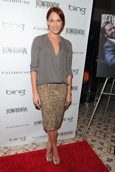 Amanda Righetti Peep Toe Pumps