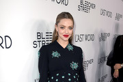 Amanda Seyfried Maternity Dress