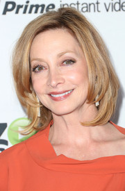 Sharon Lawrence wore her hair in a perfect bob at the Amazon Studios launch party.