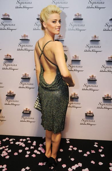 Amber Heard Cocktail Dress