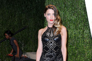 Amber Heard Halter Dress