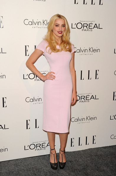 Amber Heard Platform Pumps