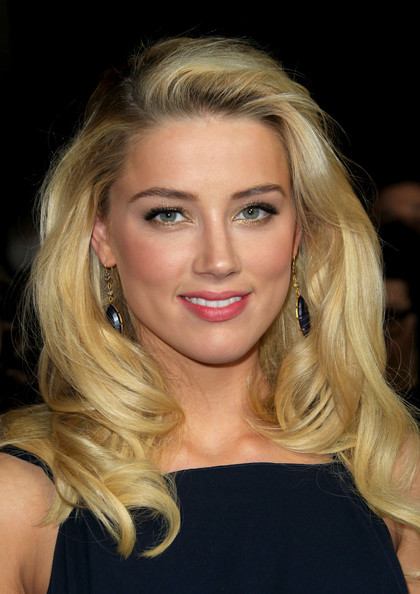 Amber Heard Long Curls