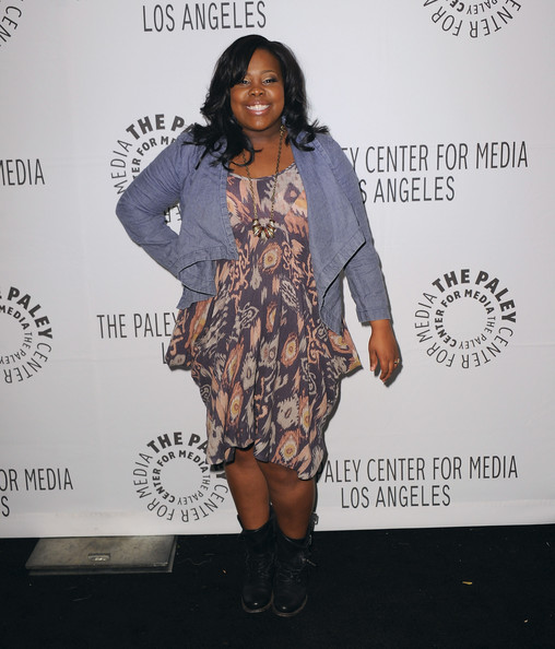 Amber Riley Print Dress