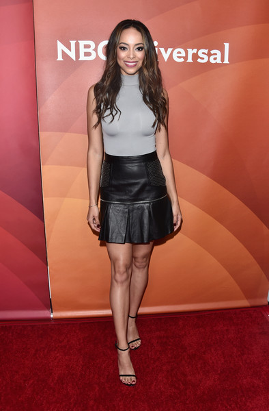 Amber Stevens West Mini Skirt