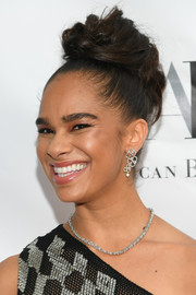 Misty Copeland styled her hair into a loose, high bun for the 2019 American Ballet Theatre Spring Gala.