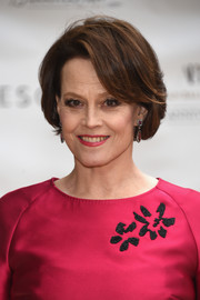 Sigourney Weaver went for retro elegance with this bob at the American Ballet Theatre's 75th Anniversary Spring Gala.
