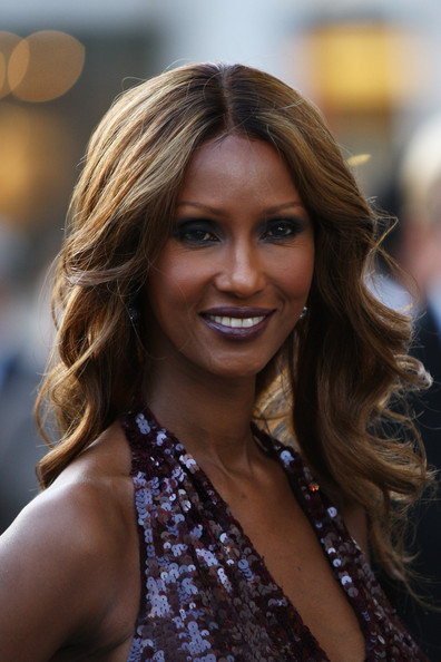 Iman wore a dramatic merlot lipstick to the American Ballet Theatre 2009 gala. The rich shade was perfectly matched to her sequined gown.