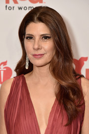Marisa Tomei looked romantic with her loose waves at the Go Red for Women 2018.