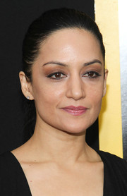 Archie Panjabi looked simply lovely with this neat ponytail at the 'American Hustle' NYC premiere.