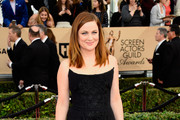 Amy Poehler Strapless Dress
