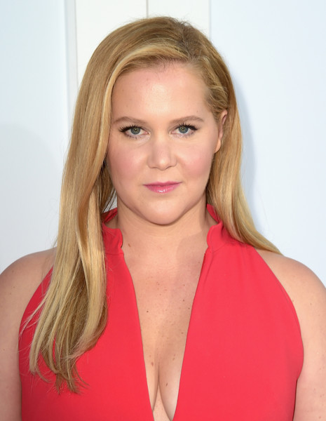 Amy Schumer Long Straight Cut [stx films,i feel pretty,red carpet,hair,face,blond,hairstyle,beauty,chin,lip,neck,shoulder,cheek,amy schumer,california,westwood village theatre,westwood,premiere,premiere]