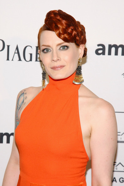 Ana Matronic Braided Updo