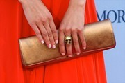 Ana Rujas Metallic Clutch