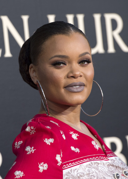 Andra Day Sterling Hoops