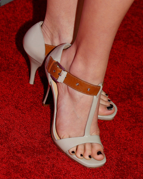 Andrea Bowen Strappy Sandals