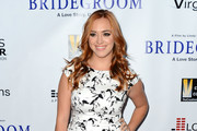 Andrea Bowen Print Dress