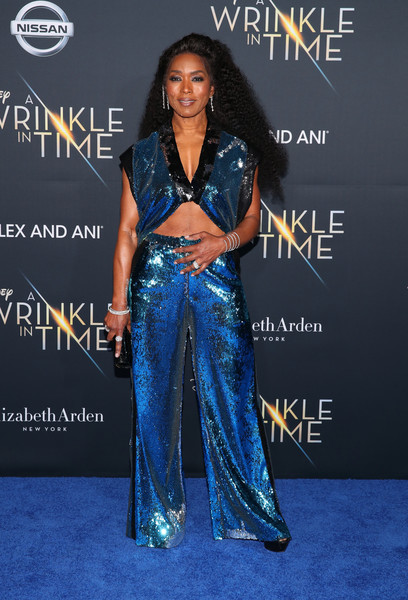 Angela Bassett Crop Top