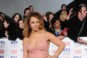 Angela Griffin Beaded Dress