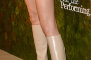 Angela Lindvall Knee High Boots