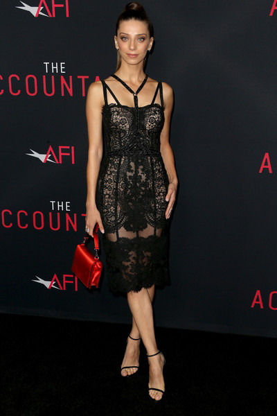 Angela Sarafyan Corset Dress