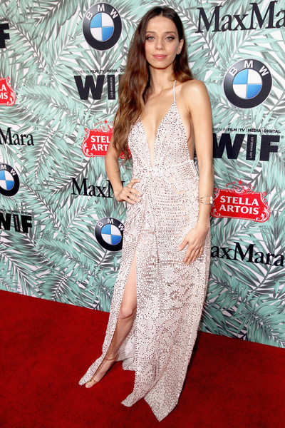 Angela Sarafyan Halter Dress