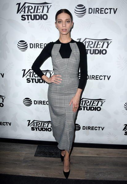 Angela Sarafyan Print Dress [extremely wicked shockingly evil and vile,voltage pictures,clothing,fashion,shoulder,dress,fashion design,joint,cocktail dress,footwear,premiere,event,angela sarafyan,directv lodge,utah,at t,party,party,vile\u00e2,sundance film festival]