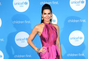 Angie Harmon Halter Dress