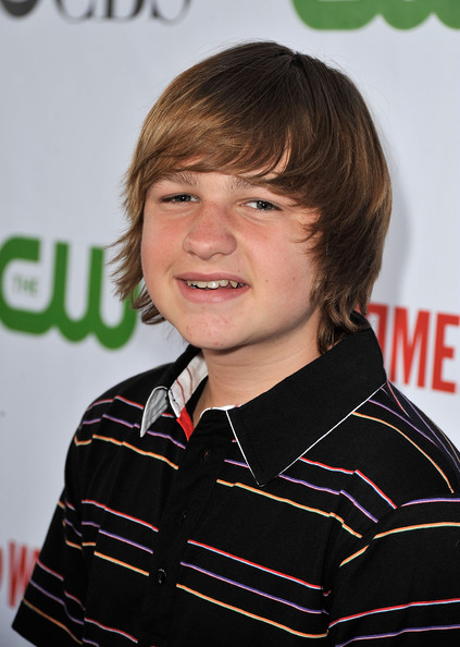 Angus T. Jones Guy's Emo [cbs,cw,cbs television studios,showtime tca party - arrivals,party,hairstyle,chin,smile,boy,forehead,girl,product,bangs,fun,child,huntington library,pasadena,california,angus t. jones]