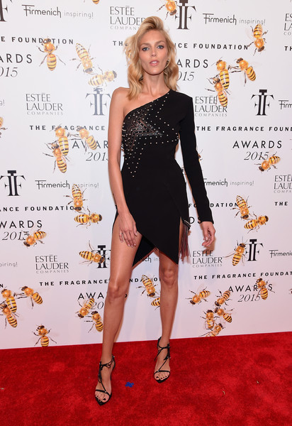 Anja Rubik One Shoulder Dress