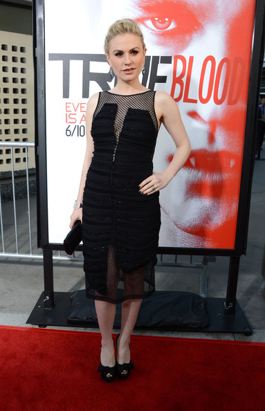 Anna Paquin Little Black Dress