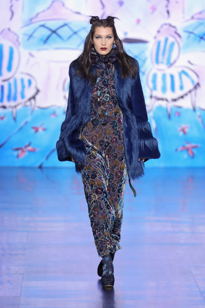 Bella Hadid at Anna Sui