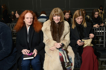 Anna Wintour Grace Coddington Vera Wang Collection - Front Row - Mercedes-Benz Fashion Week Fall 2014