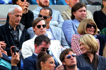 Anna Wintour Shelby Bryan US Open: Day 15