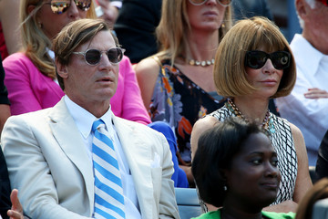 Anna Wintour Shelby Bryan 2012 US Open - Day 14