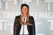 Anna dello Russo Leather Jacket