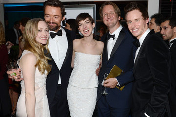 Anne Hathaway Amanda Seyfried NBCUniversal Golden Globes Viewing And After Party - Inside