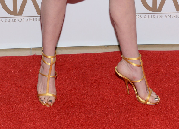 Anne Hathaway Evening Sandals