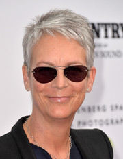 Jamie Lee Curtis kept it breezy with this pixie at the 'Country, Portraits of an American Sound' exhibition opening.