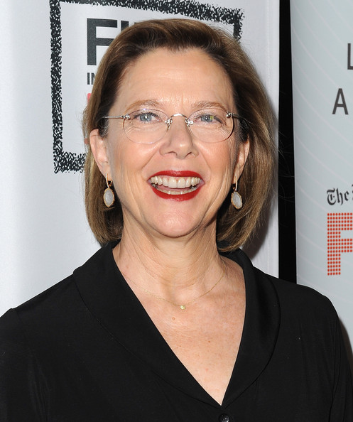 Annette Bening Bob [the face of love,screening of ifc films,hair,face,eyewear,glasses,hairstyle,eyebrow,chin,forehead,lip,premiere,annette bening,los angeles,california,lacma,ifc films,red carpet,screening]