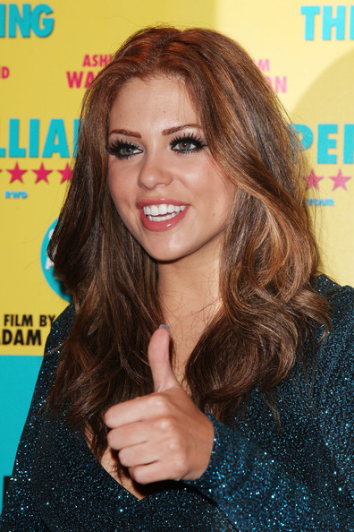 More Pics of Bianca Gascoigne Long Curls (1 of 5) - Bianca Gascoigne Lookbook - StyleBistro