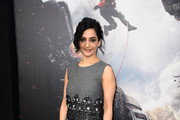 Archie Panjabi Beaded Dress