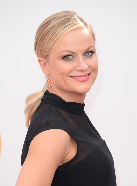 More Pics of Amy Poehler Loose Ponytail (1 of 24) - Amy Poehler Lookbook - StyleBistro